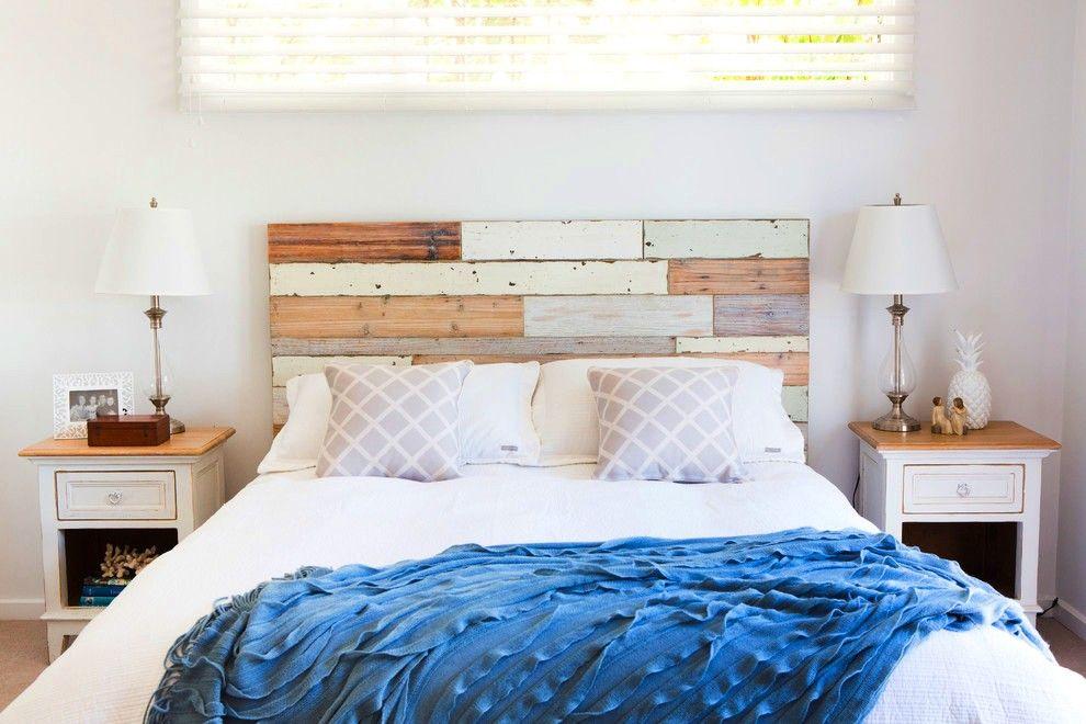 Морской стиль в оформлении деревянной кровати подарит чувство сна на лазурном берегу