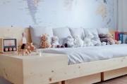 Фото 15 Кровати двуспальные деревянные (50 фото): надежная роскошь