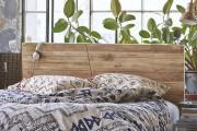 Фото 19 Кровати двуспальные деревянные (50 фото): надежная роскошь