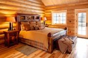 Фото 3 Кровати двуспальные деревянные (50 фото): надежная роскошь
