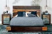 Фото 2 Кровати двуспальные деревянные (50 фото): надежная роскошь