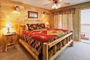 Фото 7 Кровати двуспальные деревянные (50 фото): надежная роскошь
