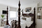 Фото 14 Кровати двуспальные деревянные (50 фото): надежная роскошь