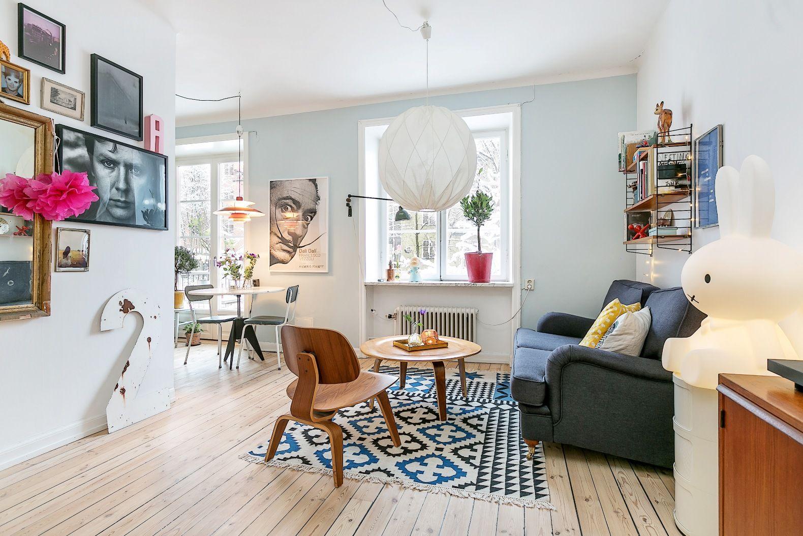 Просторная и стильная квартира-студия