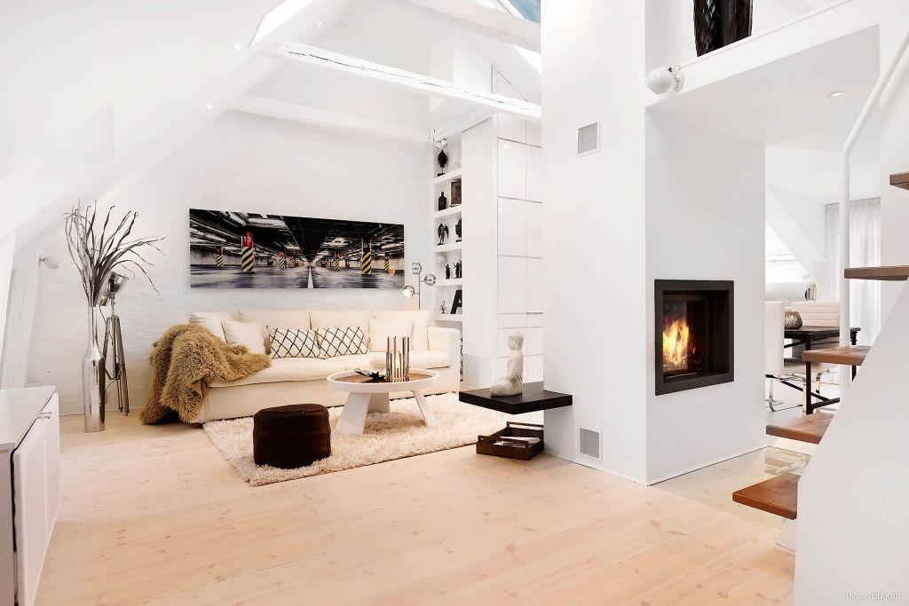Двухэтажная квартира-студия
