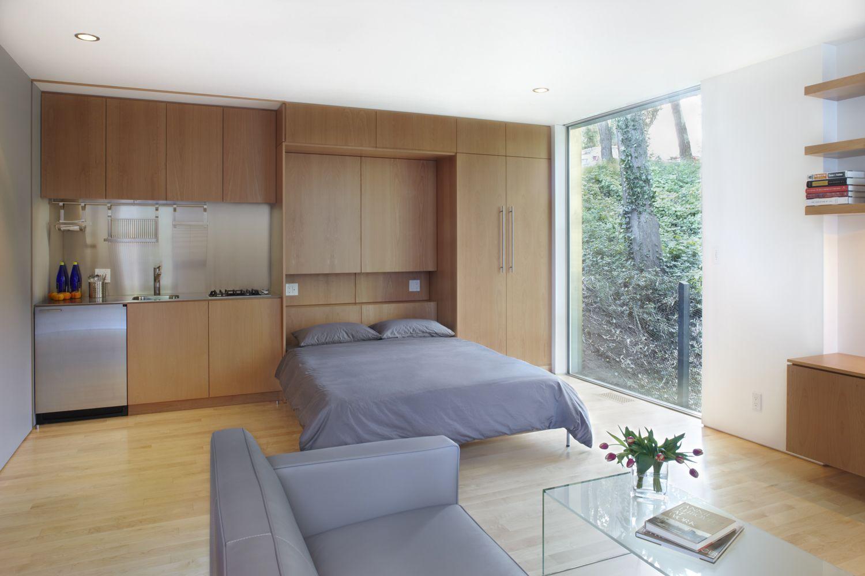 Маленькая и комфортабельная квартира-студия