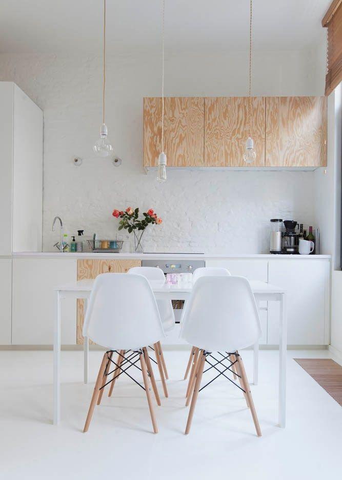 Кухня в строгом минималистском стиле