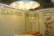 Фото 13 Натяжные потолки в ванной (45 фото): идеальный выбор