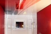 Фото 6 Натяжные потолки в ванной (45 фото): идеальный выбор
