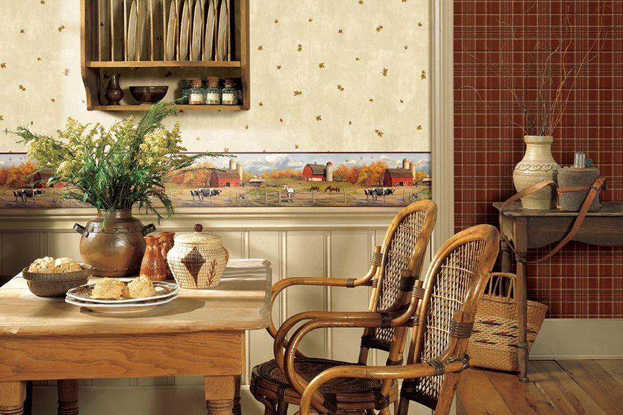 Обои разного дизайна позволят представить кухню в самом выгодном свете подчеркнув ее достоинства