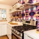 Моющиеся обои для кухни (45 фото): практичный выбор стильного покрытия фото