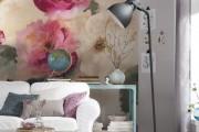 Фото 8 Обои в цветок в интерьере (50 фото): романтика природы в городской квартире