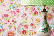 Фото 3 Обои в цветок в интерьере (50 фото): романтика природы в городской квартире