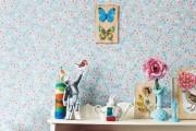 Фото 21 Обои в цветок в интерьере (50 фото): романтика природы в городской квартире