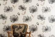Фото 14 Обои в цветок в интерьере (50 фото): романтика природы в городской квартире