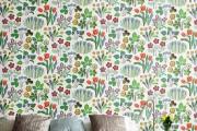 Фото 27 Обои в цветок в интерьере (50 фото): романтика природы в городской квартире