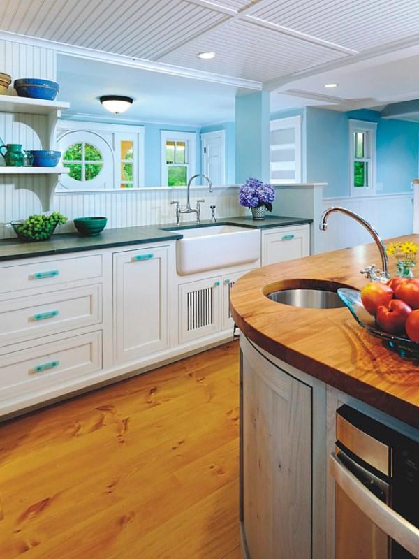 Пластиковые панели могут стать отличным отделочным материалом для Вашей кухни