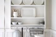 Фото 14 Пластиковые панели для кухни (60 фото): идеи для стильной отделки кухонного фартука, стен и потолка