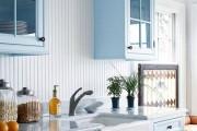 Фото 6 Пластиковые панели для кухни (60 фото): идеи для стильной отделки кухонного фартука, стен и потолка