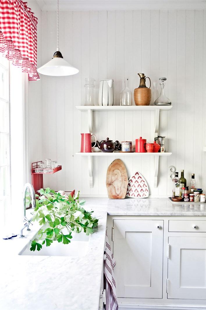 Пластиковые панели могут покрывать всю кухонную стену, обеспечивая ее защиту