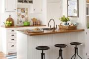 Фото 11 Пластиковые панели для кухни (60 фото): идеи для стильной отделки кухонного фартука, стен и потолка