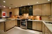 Фото 7 Пластиковые панели для кухни (60 фото): идеи для стильной отделки кухонного фартука, стен и потолка