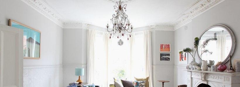 Потолочные багеты (45 фото): изящный декор комнаты без особых усилий
