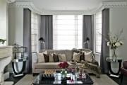 Фото 2 Потолочные багеты (45 фото): изящный декор комнаты без особых усилий