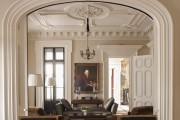 Фото 12 Потолочные багеты (45 фото): изящный декор комнаты без особых усилий