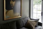 Фото 19 Потолочные багеты (45 фото): изящный декор комнаты без особых усилий