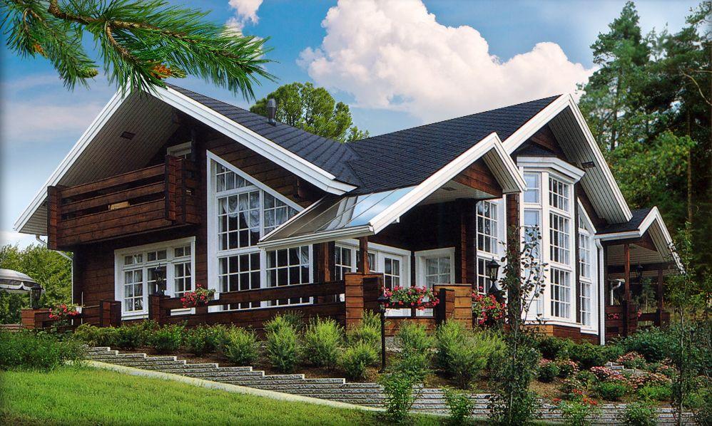 Деревянный дом позволит меньше беспокоиться о здоровье благодаря поддержке хорошего микроклимата
