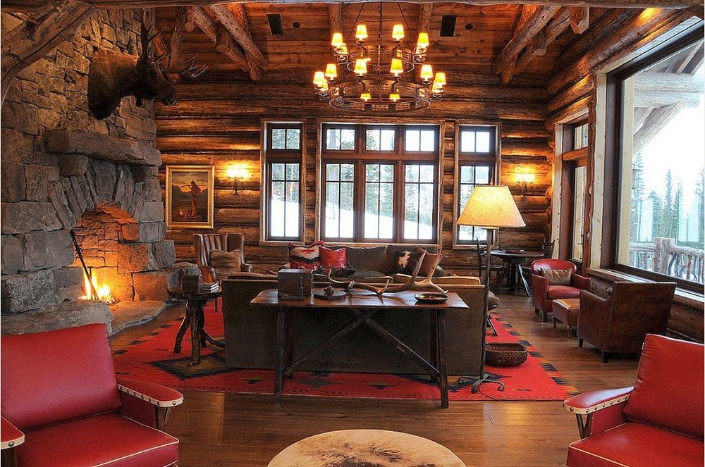 В деревянном доме легко создается атмосфера, необходимая для отдыха