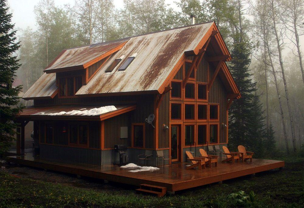 Финский дом - отличный вариант для тех, кто любит комфорт и спокойствие