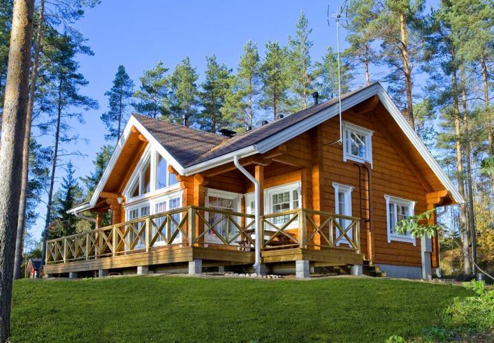 Финские дома из бруса - хорошая возможность стать обладателем красивого и надежного недорогого жилища