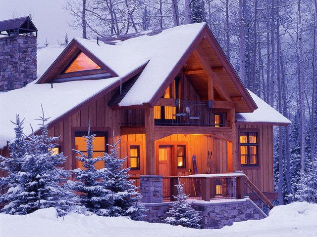 Финский деревянный дом - это сказочная красота снаружи и практически санаторный микроклимат внутри