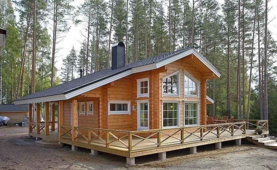 Удобность и легкость работы с брусом положительно отражается как на стоимости работ, так и на качестве самого дома