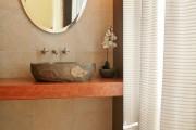 Фото 21 Раковина в ванную комнату (65+ моделей в интерьере): обзор современных материалов и как не ошибиться с размерами?