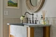 Фото 8 Раковина в ванную комнату (65+ моделей в интерьере): обзор современных материалов и как не ошибиться с размерами?