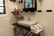 Фото 30 Раковина в ванную комнату (65+ моделей в интерьере): обзор современных материалов и как не ошибиться с размерами?
