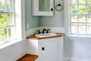 Фото 11 Раковина в ванную комнату (65+ моделей в интерьере): обзор современных материалов и как не ошибиться с размерами?