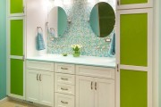 Фото 2 Шкафы для ванной комнаты (50 фото): как объединить практичность и эстетику
