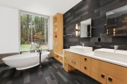 Фото 9 Шкафы для ванной комнаты (50 фото): как объединить практичность и эстетику