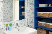 Фото 1 Шкафы для ванной комнаты (50 фото): как объединить практичность и эстетику
