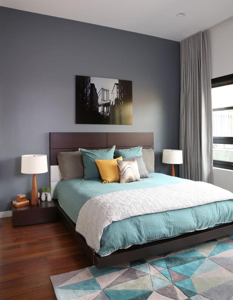 Спальный гарнитур в скромном лаконичном дизайне