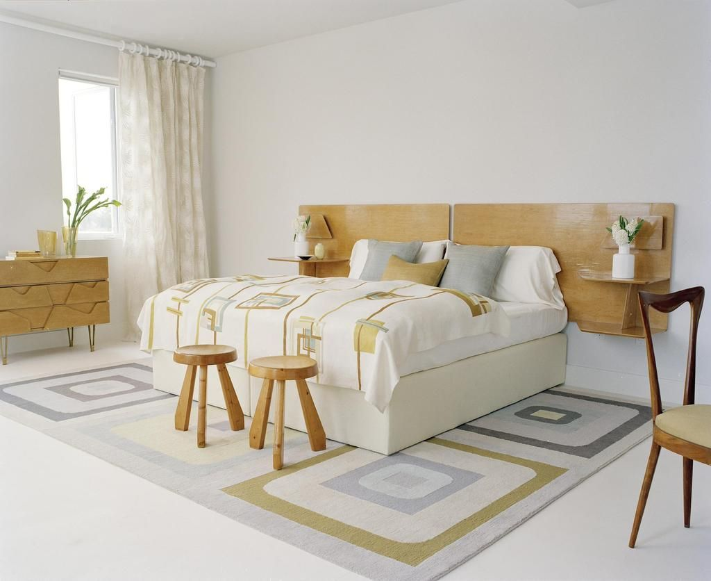 Оригинальная спальня в деревенском стиле