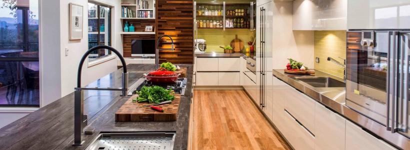 Столешница для кухни (50 фото): выбираем практичное рабочее пространство