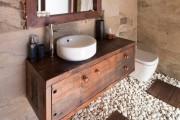 Фото 1 Тумба под раковину в ванную: сравнение материалов, конструкций и 65+ элегантных моделей в интерьере