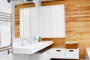 Фото 17 Тумба под раковину в ванную: сравнение материалов, конструкций и 65+ элегантных моделей в интерьере
