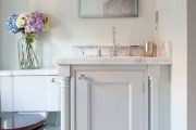 Фото 4 Тумба под раковину в ванную (45 фото): популярные варианты