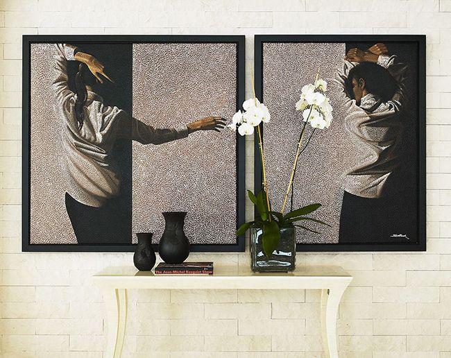 Можно поместить любимую картину в темную раму – и искусство заиграет по-новому